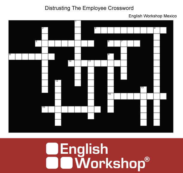 Distrusting employees crossword puzzle