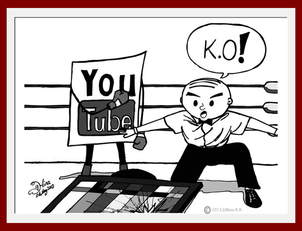 You Tube knocks out Television.